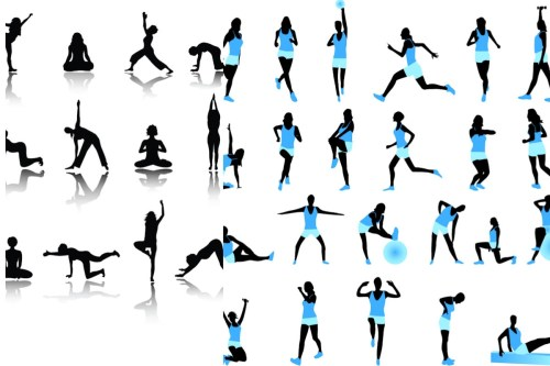 small resolution of exercise border clipart