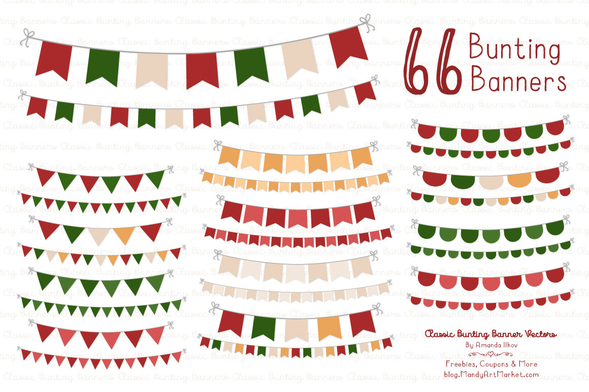 hight resolution of christmas clip art banner