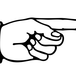 index finger clipart pointing [ 3658 x 2220 Pixel ]