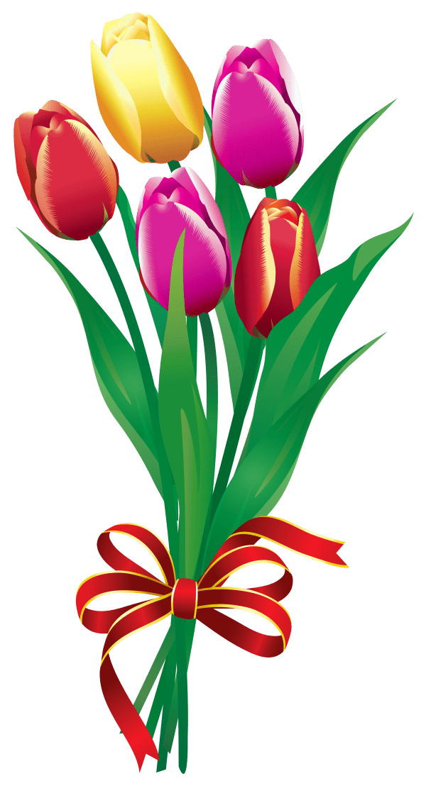 free flower bunches cliparts