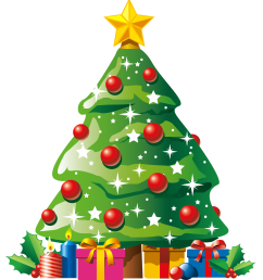 christmas tree cliparts [ 1796 x 2010 Pixel ]