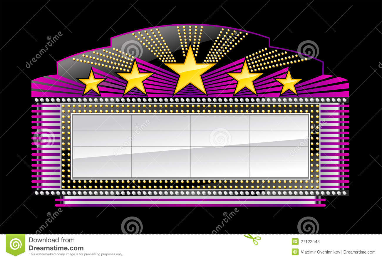 hight resolution of theater marquee high resolution clipart movie