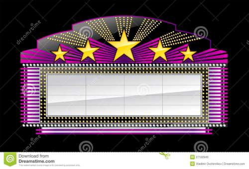 small resolution of theater marquee high resolution clipart movie