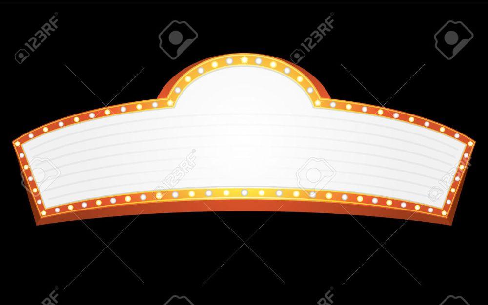 medium resolution of movie marquee clipart movie