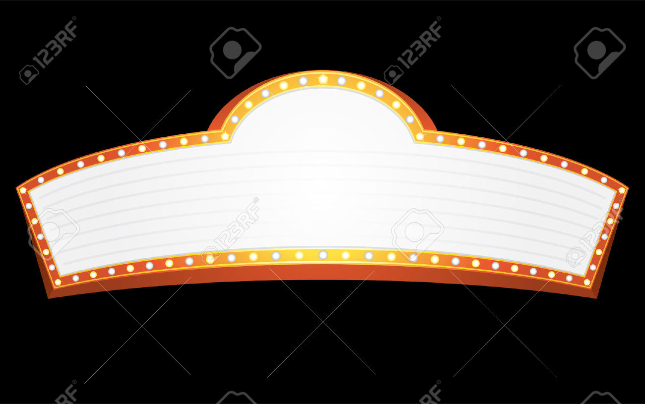 hight resolution of movie marquee clipart movie