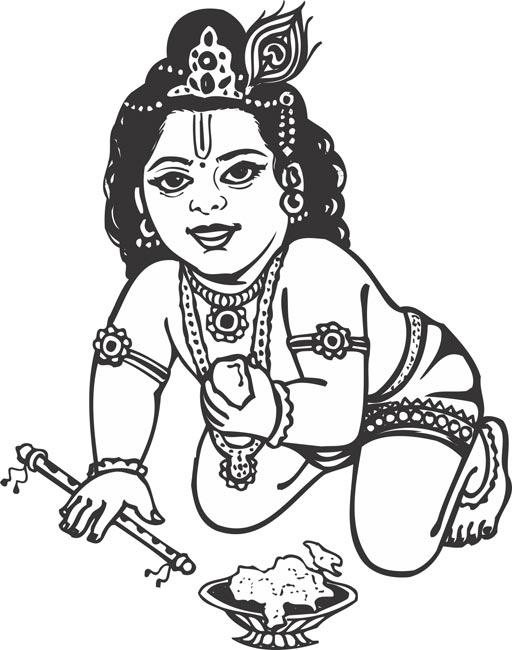 Krishna Photo Black And White : krishna, photo, black, white, Krishna, Black, White,, Download, Clipart, Library