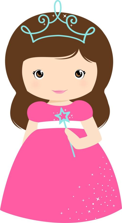 small resolution of clipart princess girl