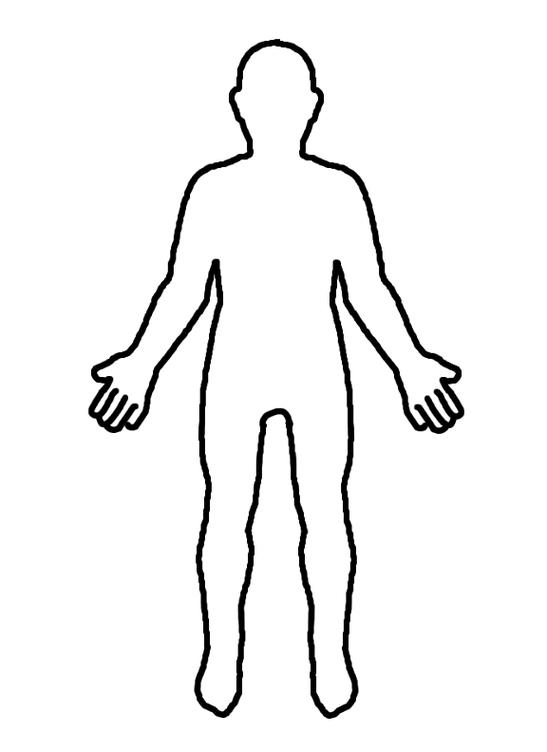 Free Shoulders Cliparts Diagram, Download Free Clip Art