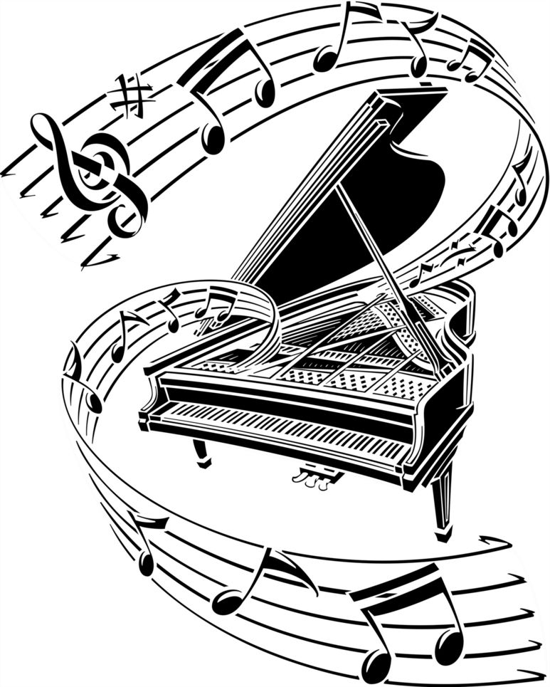 Free Music Piano Cliparts, Download Free Clip Art, Free