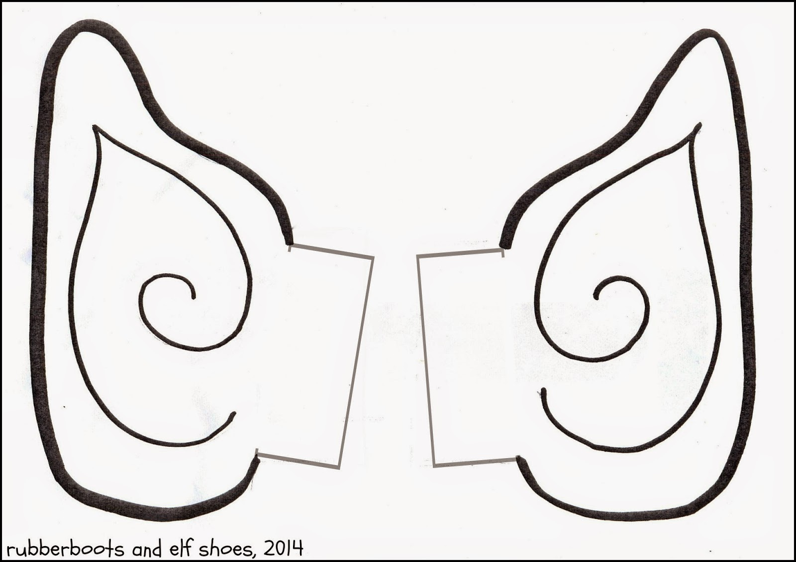 Elf Ears Clip Art Clker Com Vector Online Royalty Free