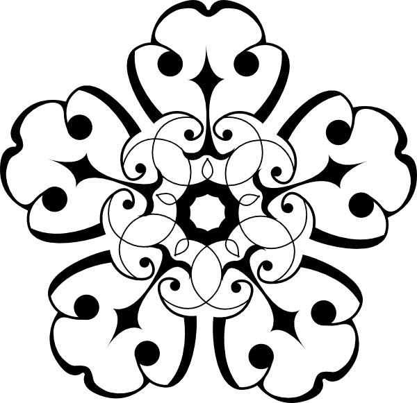 Free Gray Flower Cliparts, Download Free Clip Art, Free