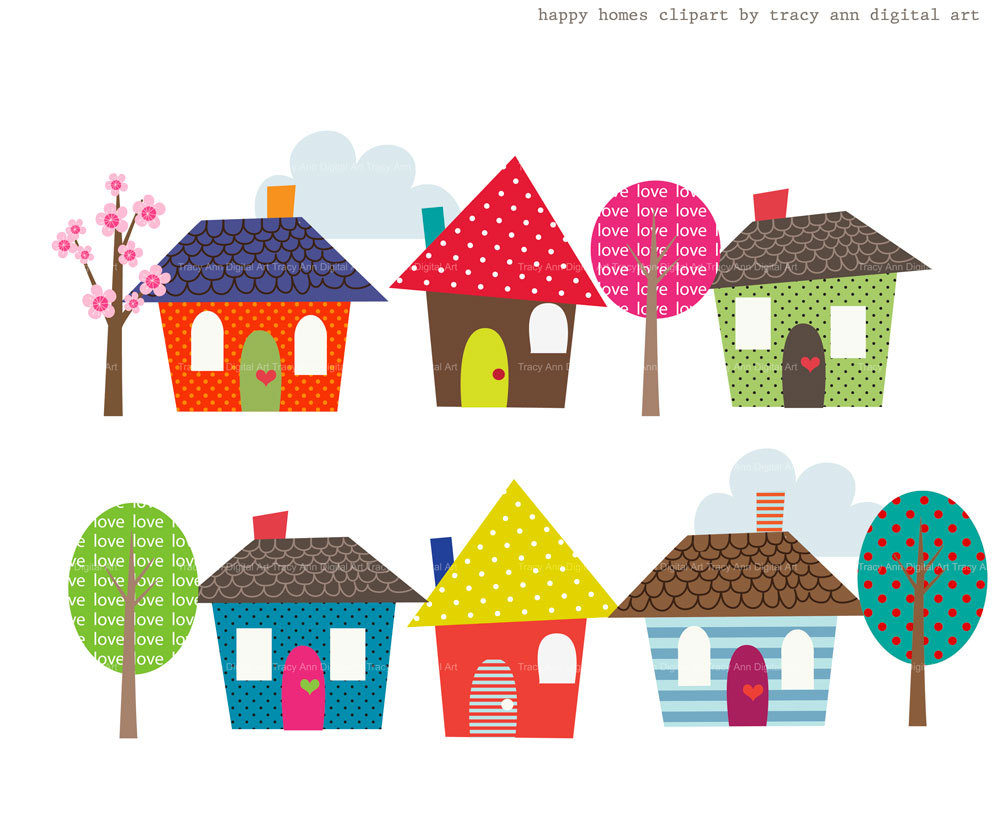 hight resolution of home sweet home clipart house