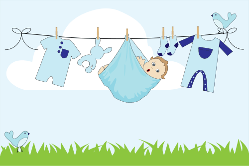 small resolution of free baby clothesline clipart clipart