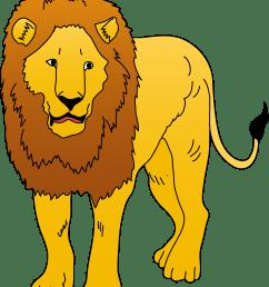 lions clipart [ 4464 x 5359 Pixel ]