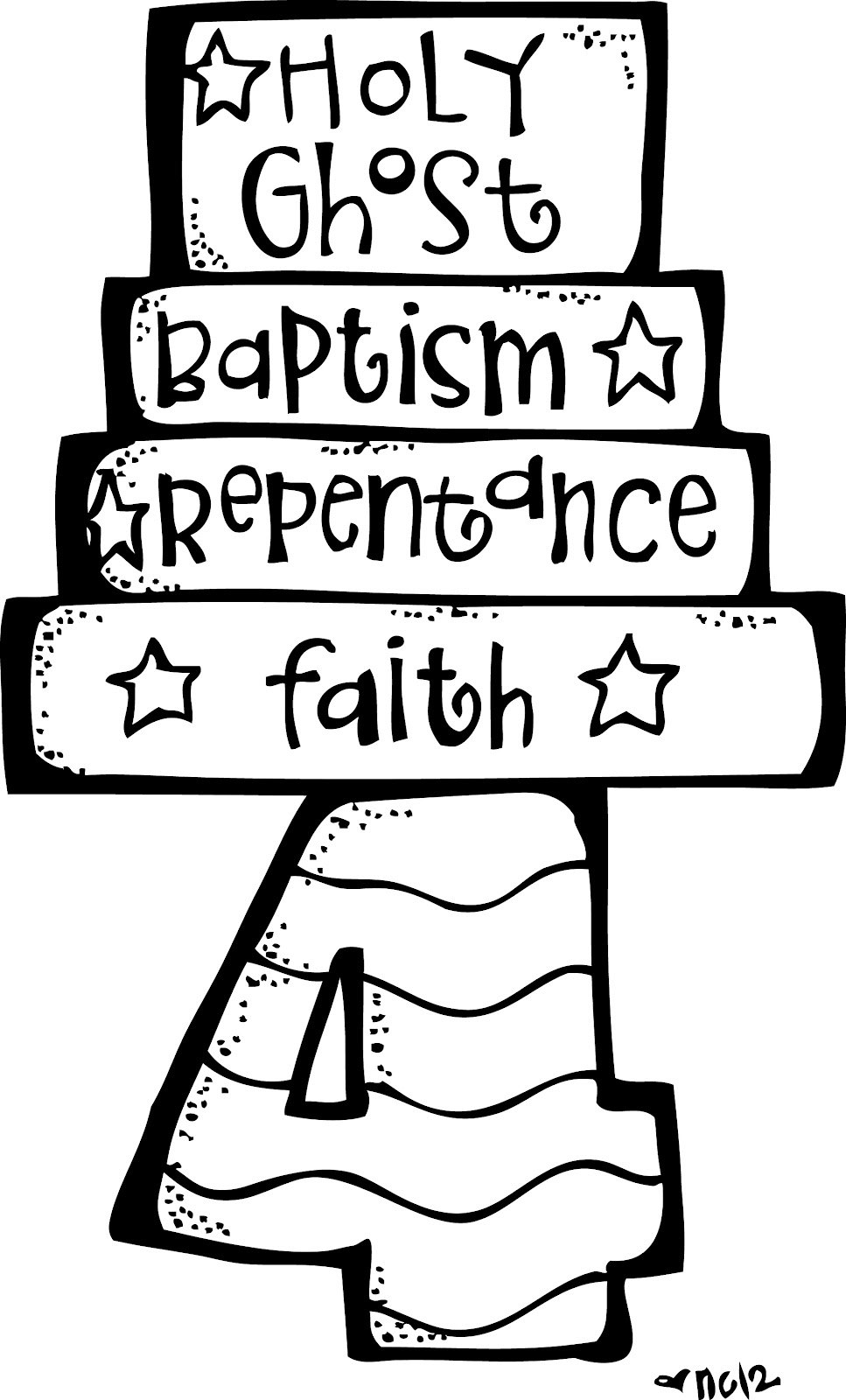 Lds clipart articles of faith