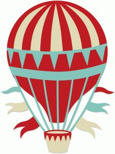 free flying balloon cliparts
