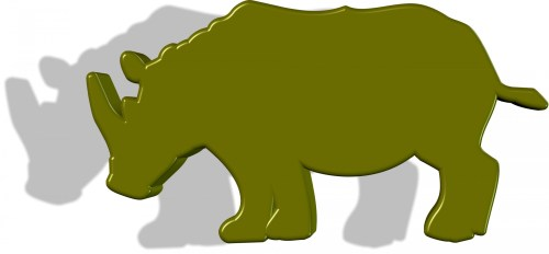 small resolution of green rhino free stock photo