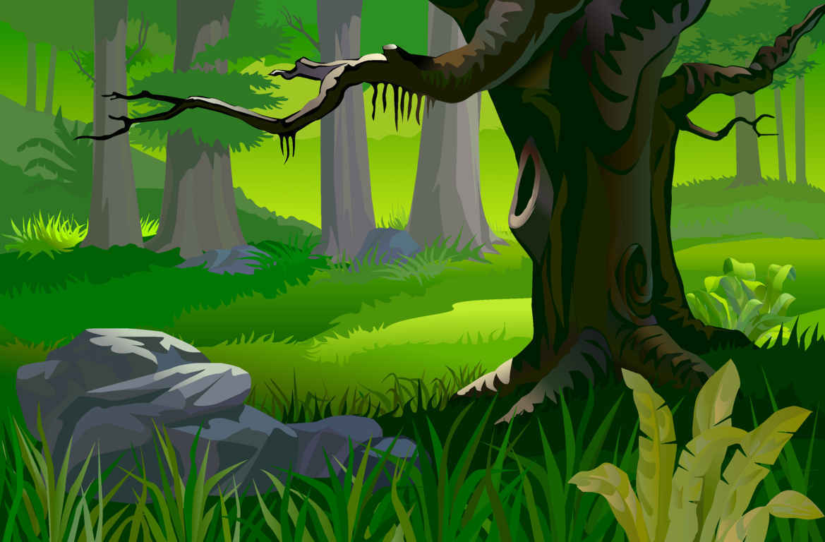 hight resolution of animated forest clipart animated