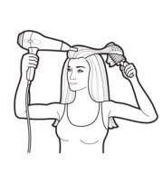 fix hair clipart