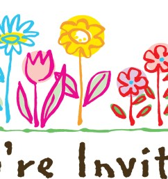 you re welcome clipart you invited birthday clipart  [ 2024 x 986 Pixel ]