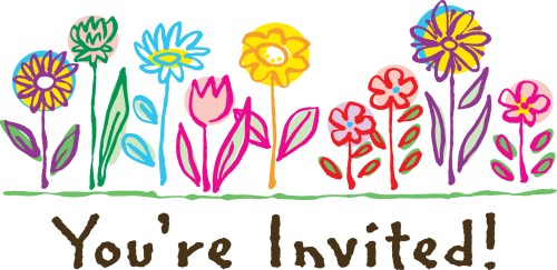 small resolution of you re welcome clipart you invited birthday clipart