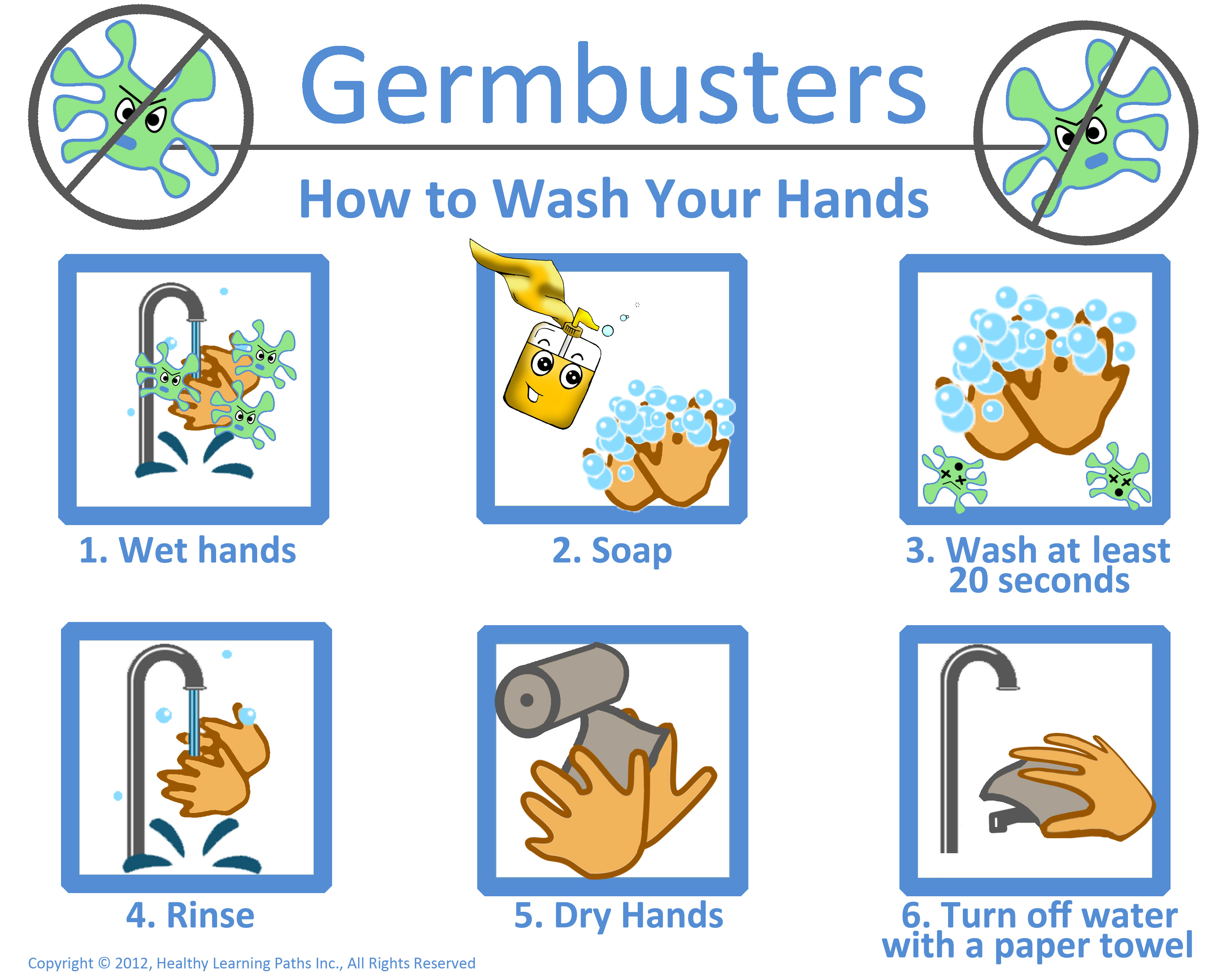 Germ Buster Clipart
