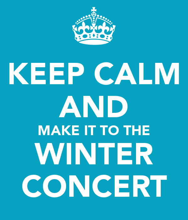 free winter concert cliparts