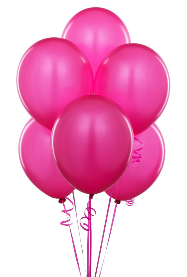 free fuschia balloon cliparts