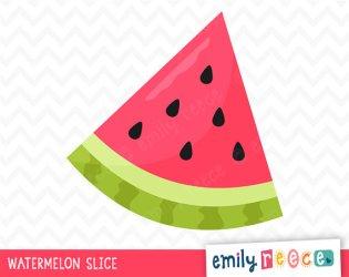 clip art watermelon slice Clip Art Library