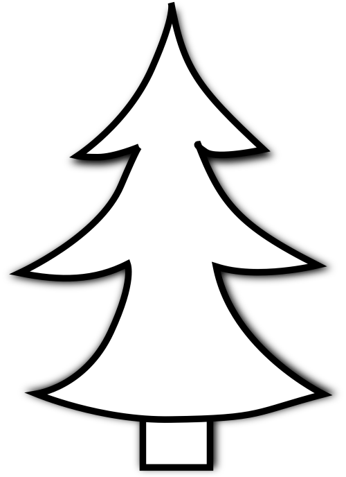 small resolution of christmas tree and cross clipart pine