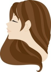 brown hair clipart Clip Art Library