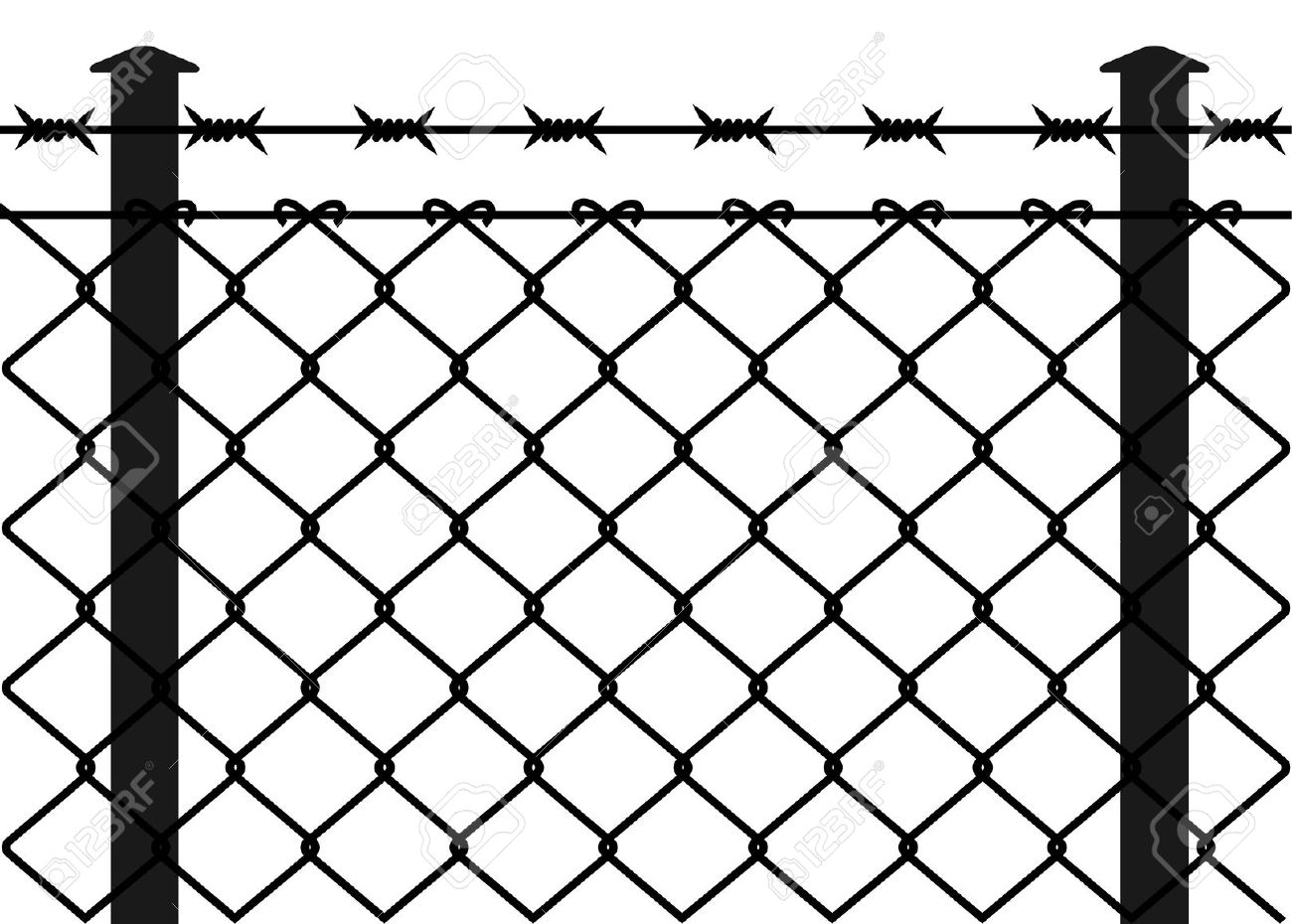 Fence Awesome Barbed Wire Fence Post Home Depot Razor