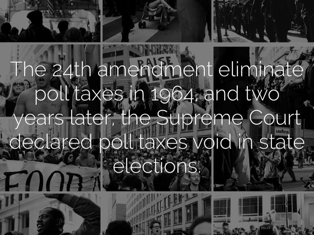 Definition Of 24th Amendment