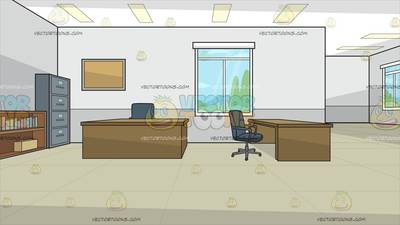 The Oval Office Background Cartoon Clipart
