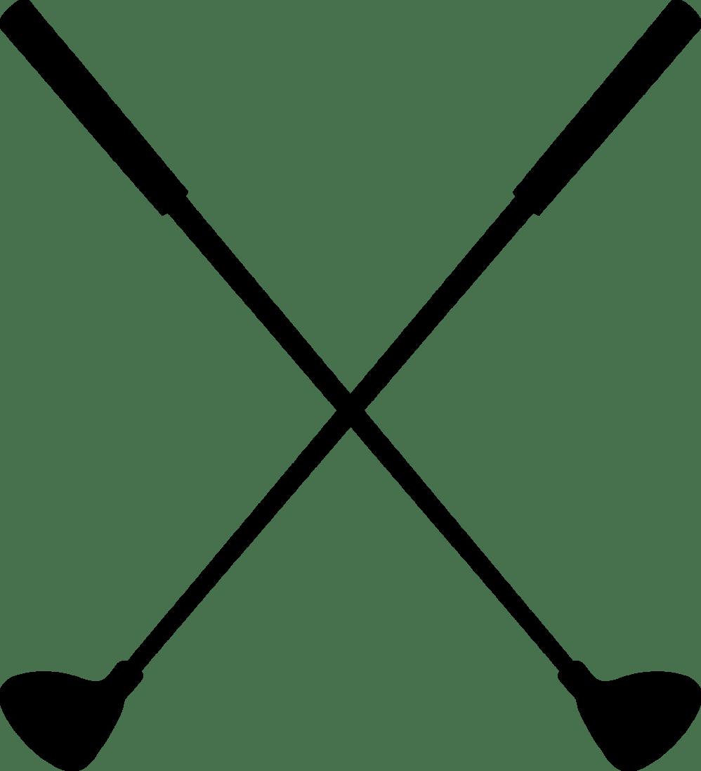 Golf Clubs Clip Art Clipart