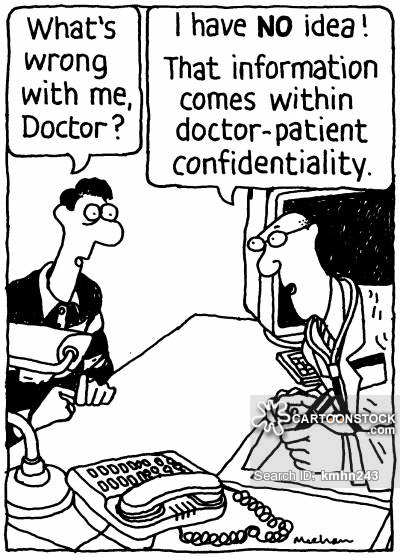 Patient Confidentiality Cartoons and Comics