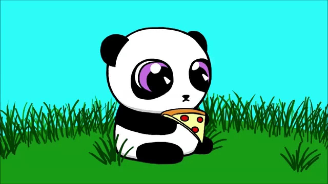 Cute Animated Cupcake Wallpaper Free Panda Eating Cliparts Download Free Clip Art Free
