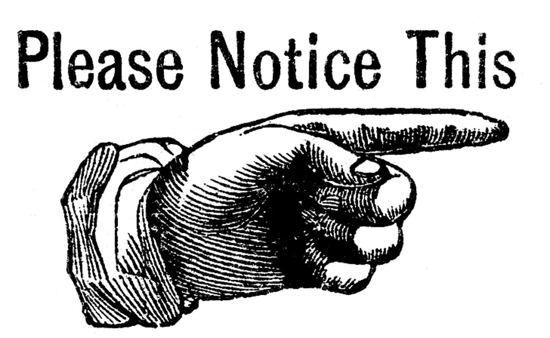 Free Big Cliparts Notice Download Free Clip Art Free