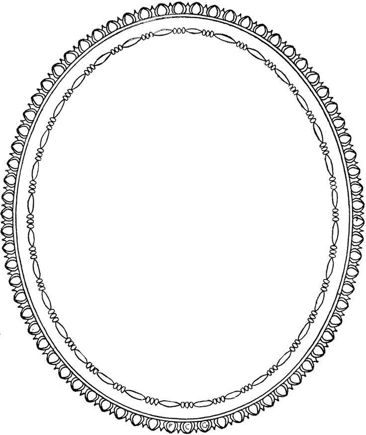 Ornate Baroque Frame Clip Art Gothic Digital Frames Clipart
