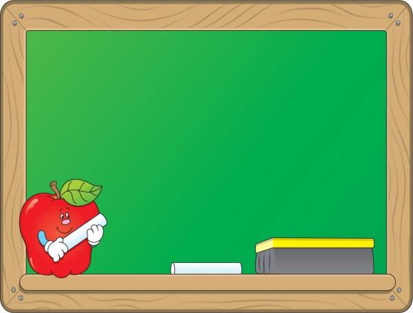 Chalkboard Apple Clipart