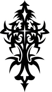 free cross tattoo cliparts