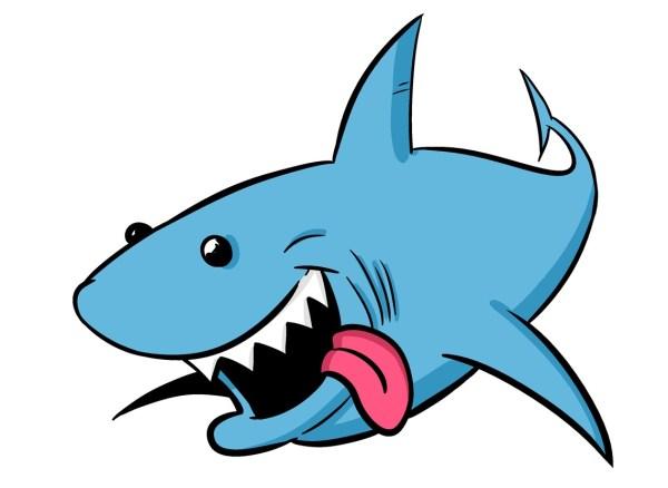 Free Cartoon Shark Cliparts Clip Art