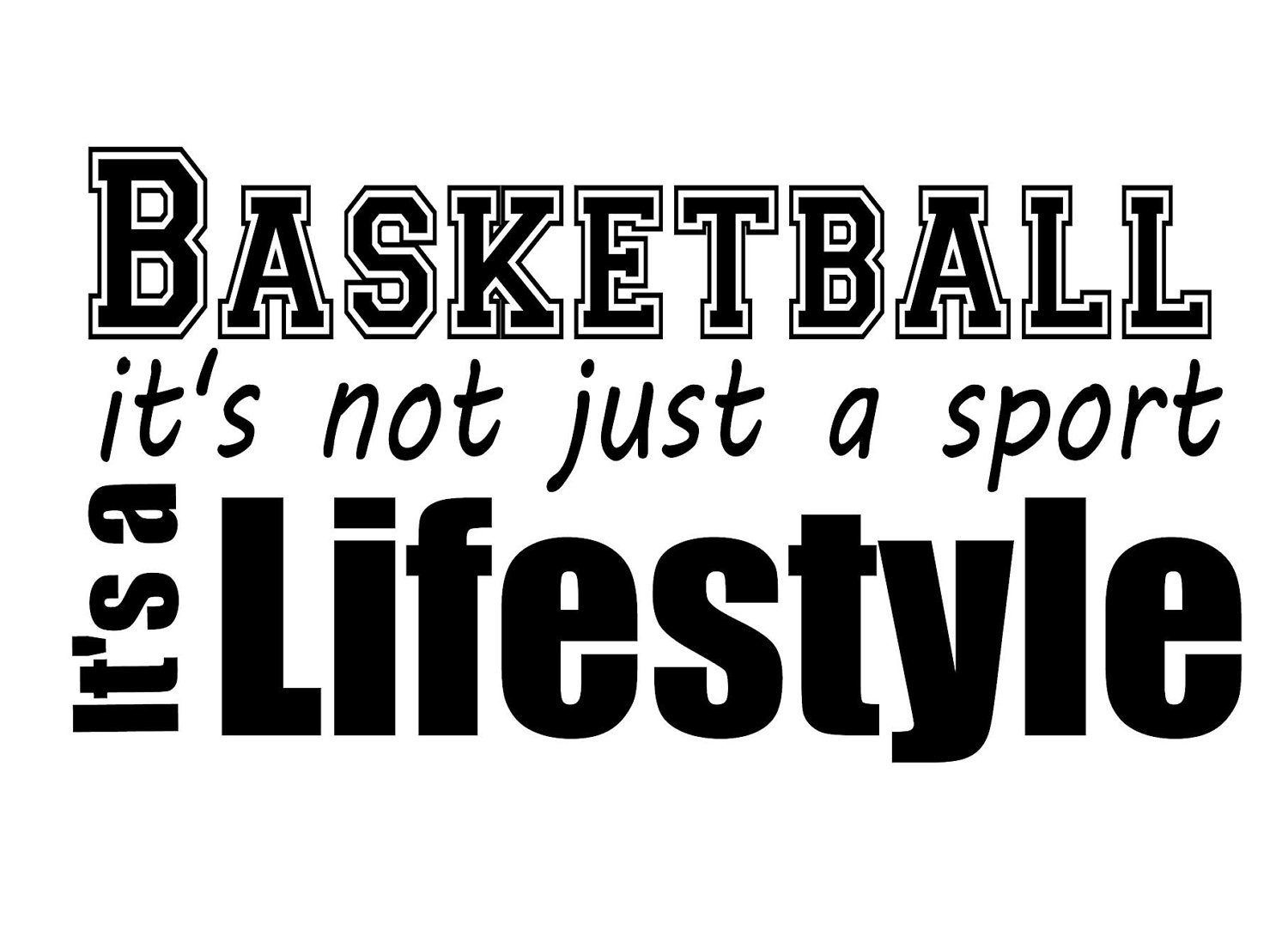 Basketball Cliparts Quotes