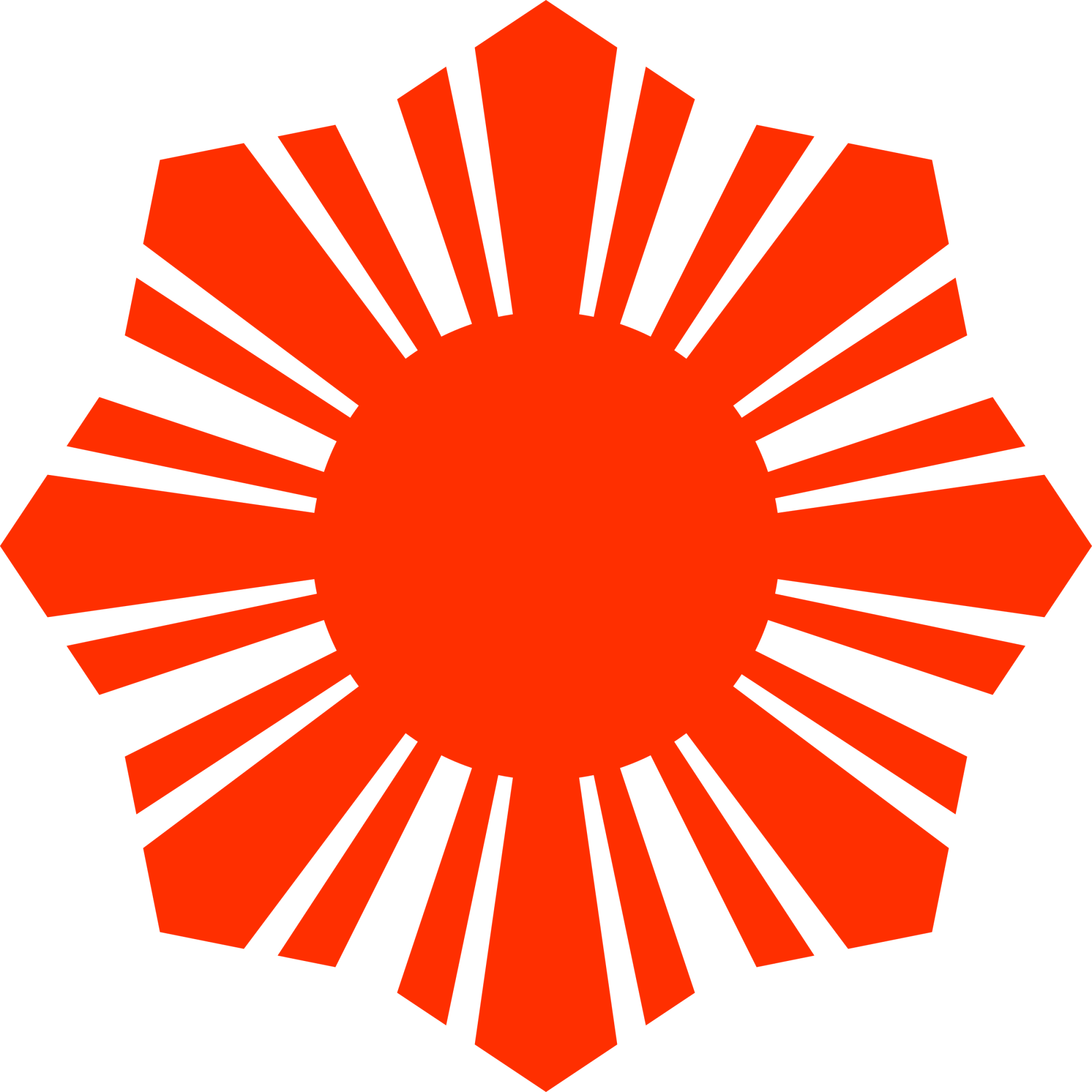 hight resolution of red sun clipart