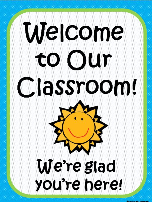 Welcome To Class Sign : welcome, class, Welcome, Classroom, Cliparts,, Download, Clipart, Library