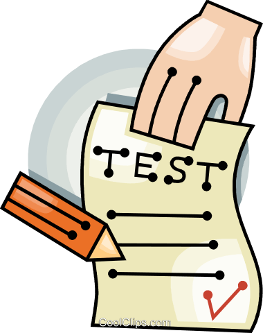 free school test cliparts