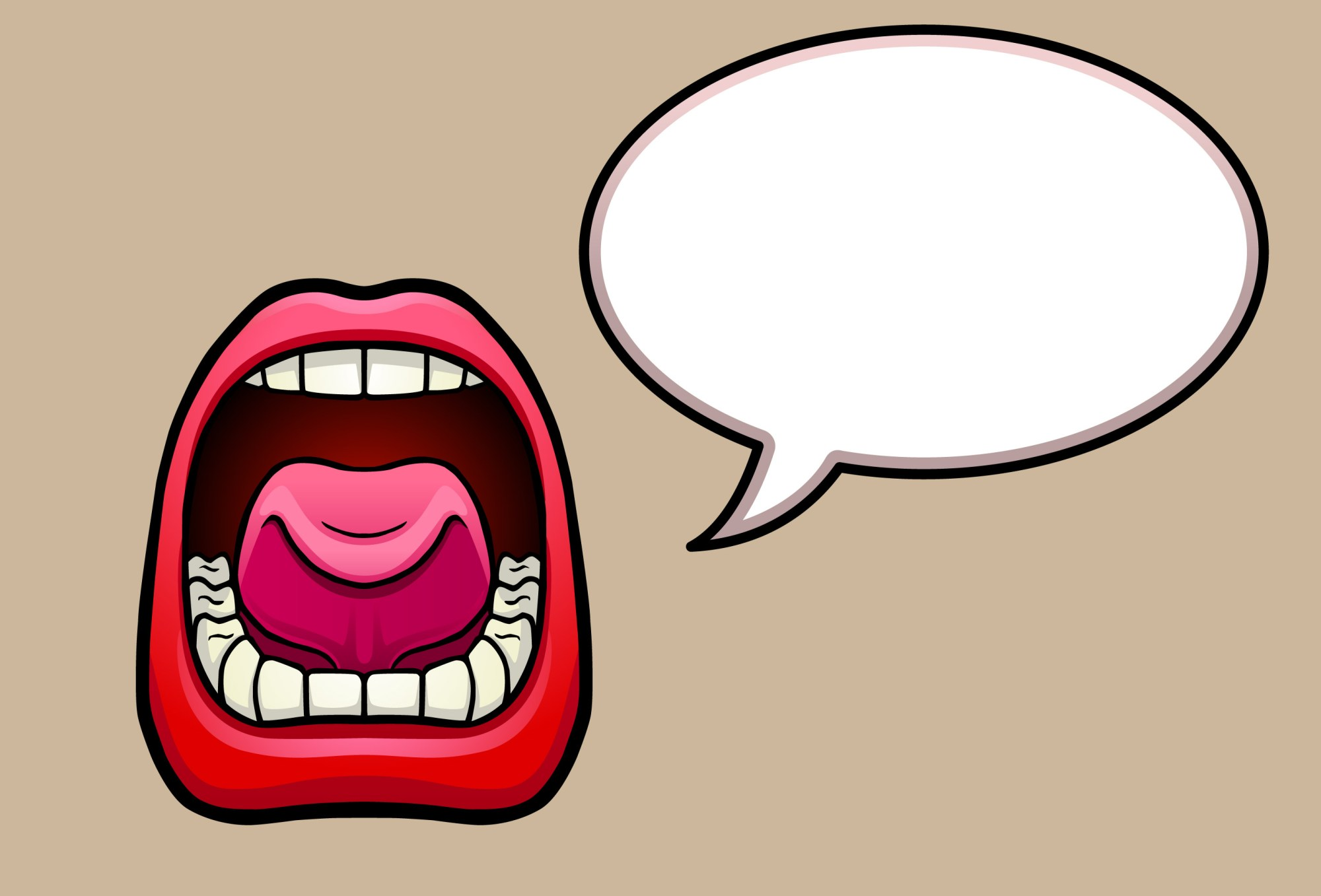 hight resolution of clip arts related to clipart mouth no talking