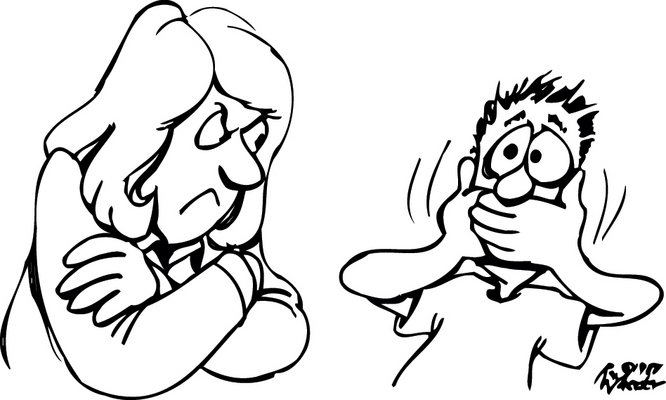 Angry Teacher Clipart Black And White