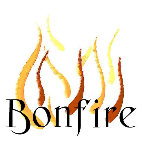 free bonfire cliparts black