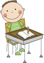 kids writing clipart Clip Art Library